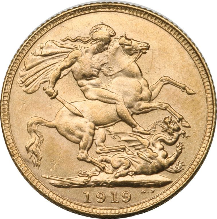 1919 George V Gold Sovereign