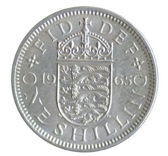 1965 Elizabeth II English Shilling