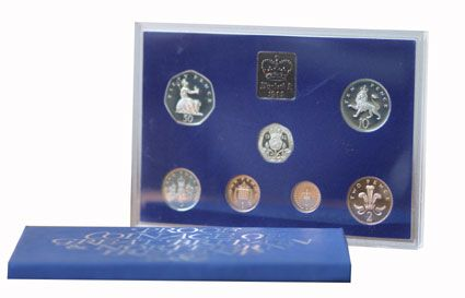 1982 Official Royal Mint Proof Set