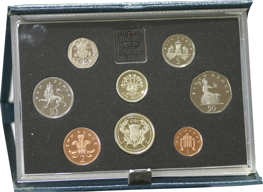 1986 Official Royal Mint Proof Set