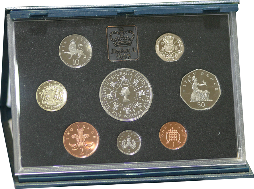 1993 Royal Mint Proof Set