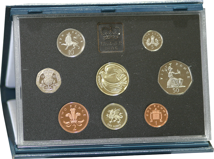 1995 Royal Mint Proof Set