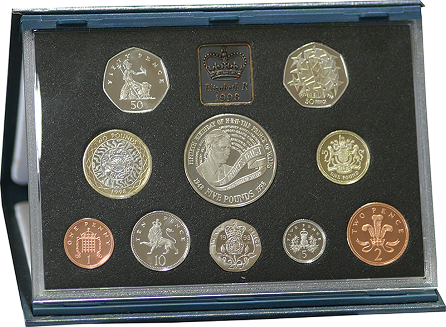 1998 Royal Mint Proof Set