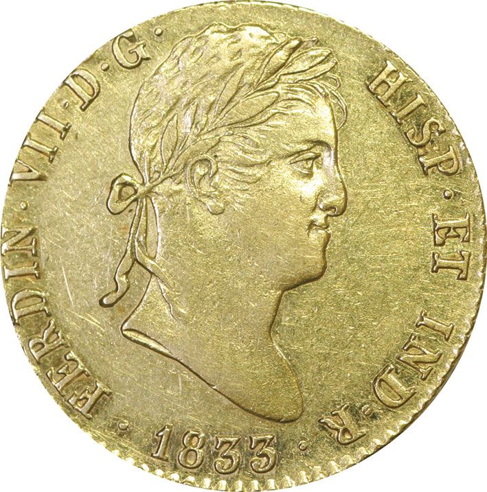2 Gold Spanish Escudos in EF Condition