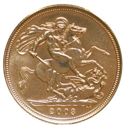 2003 Gold Half Sovereigns