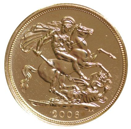 2006 Gold Half Sovereigns