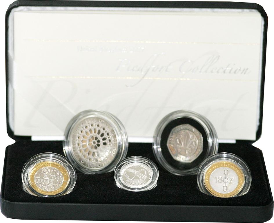 2007 Silver Piedfort Proof Set
