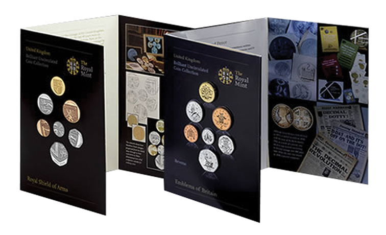 2008 Royal Mint  New coinage Double Uncirculated Set