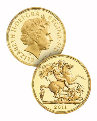 2011 Gold Half Sovereigns