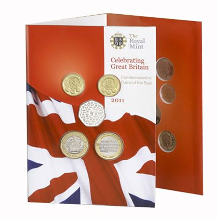 2011 Uncirculatred Set from  the Royal Mint