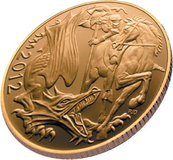 2012 Gold Bullion Half Sovereign from The Royal Mint