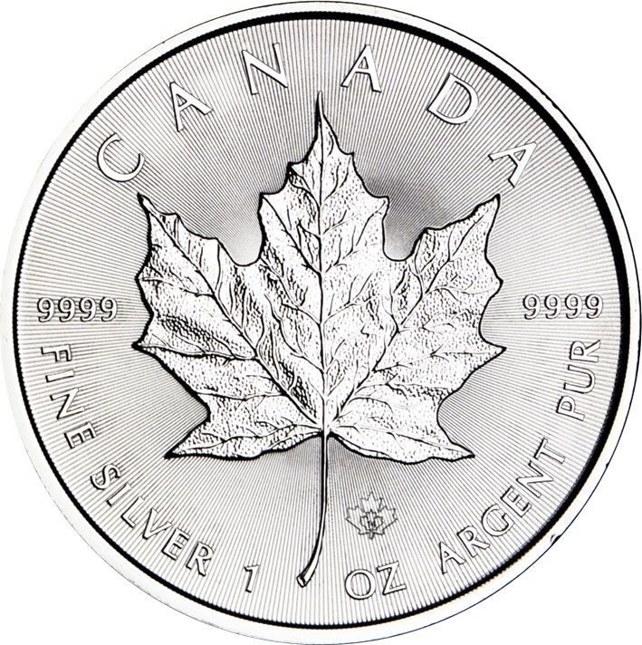 2015 Canadian Silver 1oz Bullion Maple