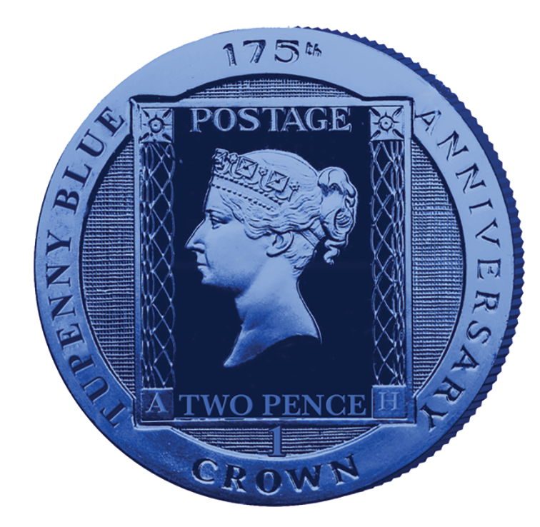 2015 I.O.M Tupenny Blue 175th Anniversary Crown