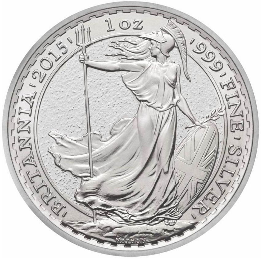 2015 Royal Mint Silver 1oz Britannia Coin