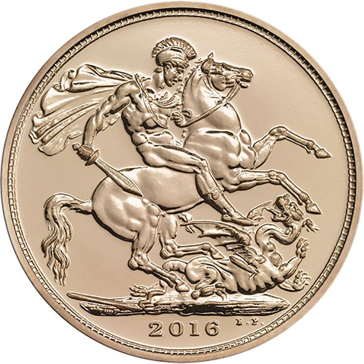 2016 Uncirculated Gold Sovereign