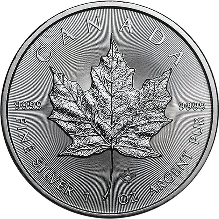 2017 1oz Silver Maple