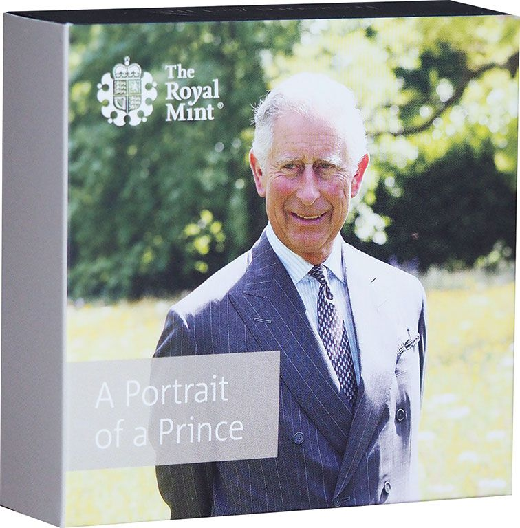 2018 Prince Charles 70th Birthday £5 (5 pound)