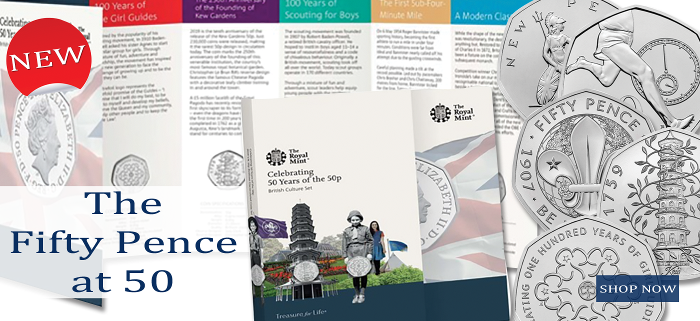 New 50p Collection from the Royal Mint