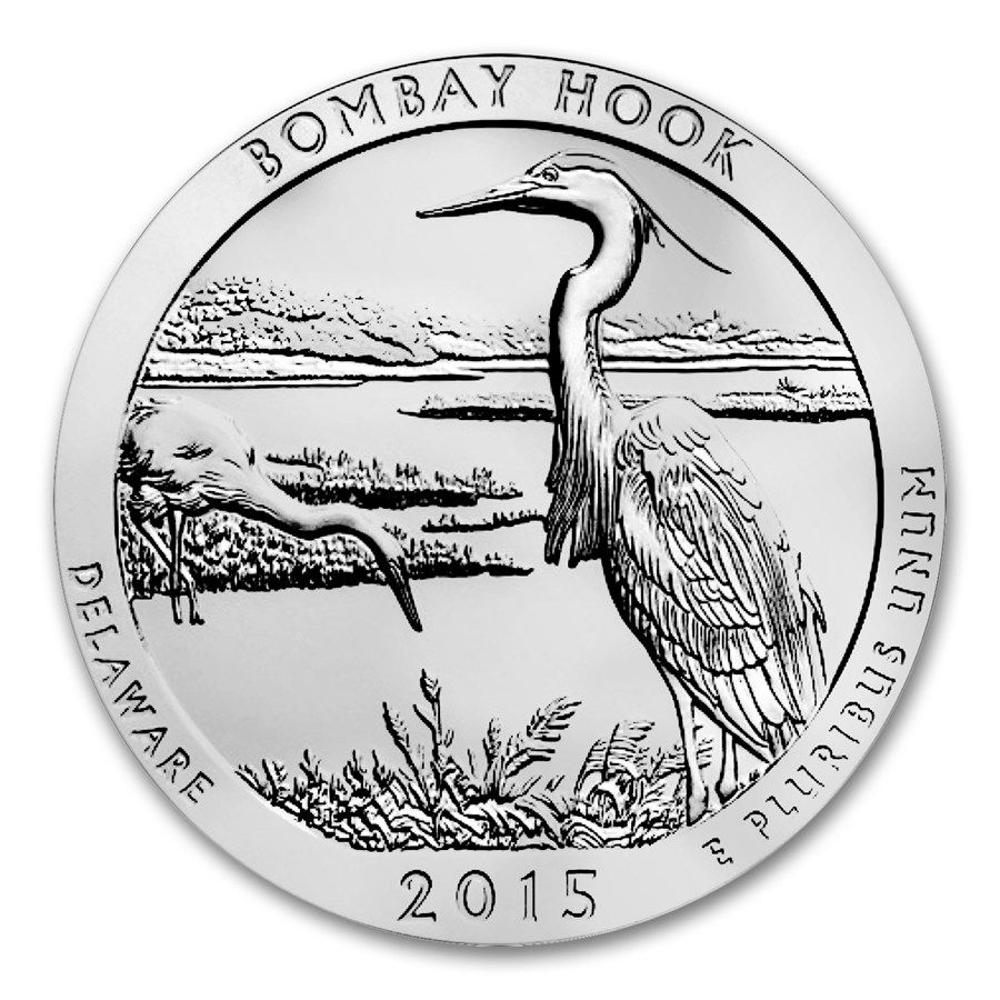 Bombay Hook National Wildlife Refuge Silver Dollar