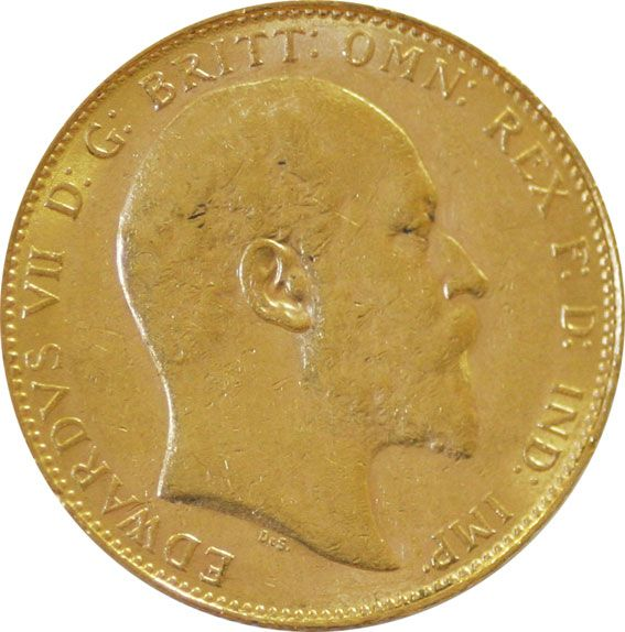 Edward VII Gold Sovereign 1902-1910