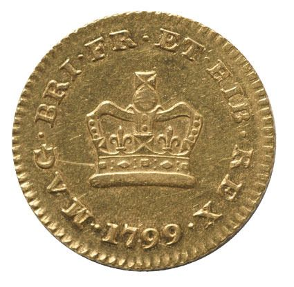 George III One Third Gold Guinea