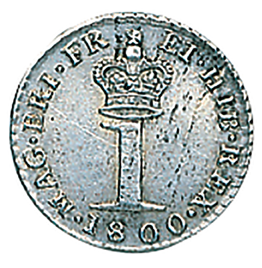 George III Silver Penny