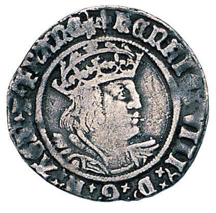Henry VIII Silver Groat 1509-1547 in Fine Condition