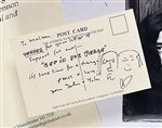 John Lennon's - Bed in for Peace Postcard