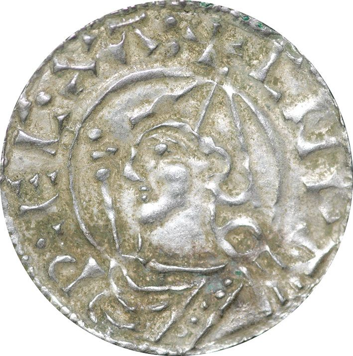 King Canute (Cnut) Silver Penny 1016- 1035