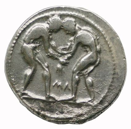 Olympic Silver Stater of Pamphylia