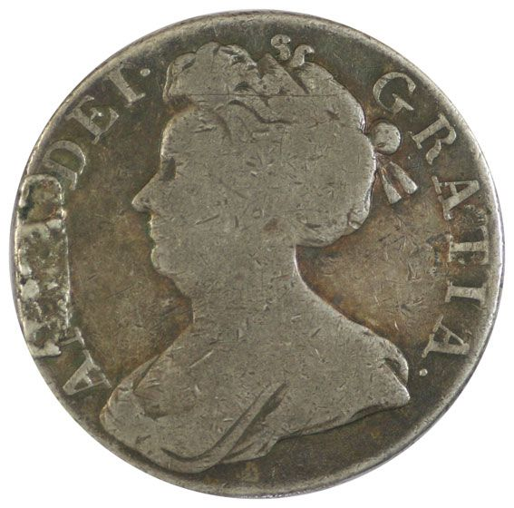 Queen Anne Silver Crown - Fine Condition