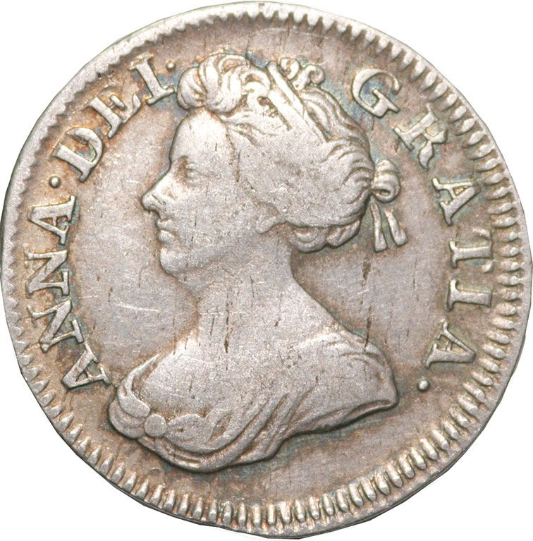 Queen Anne Silver Fourpence 1702-1714