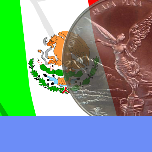 Silver 1oz Mexican Libertads by the Mexico Mint