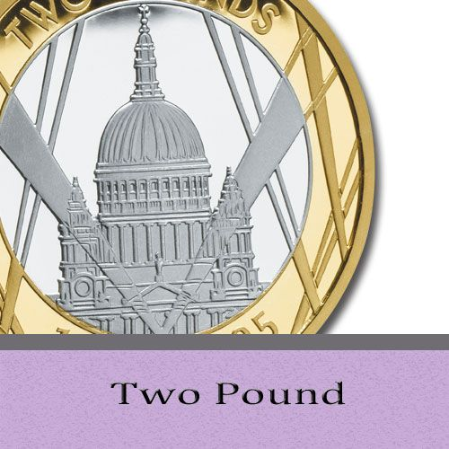 Two pounds (£2)