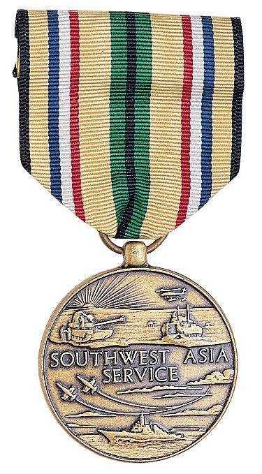 USA Gulf War Medal 1990-1991