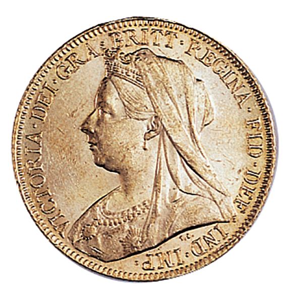Victoria Old Head Half Sovereign 1893-1901