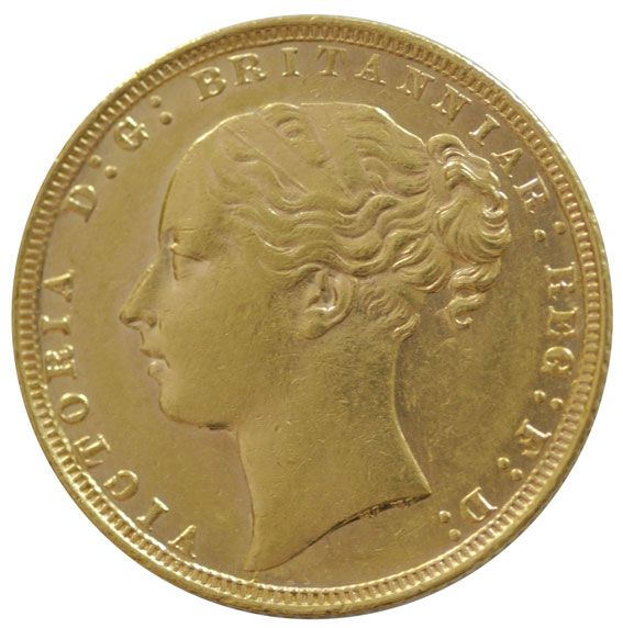 Victoria Young Head Half Sovereign 1838 - 1887