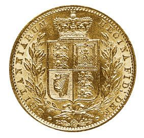 Victoria Young Head Shield Gold Sovereign 1837-1887
