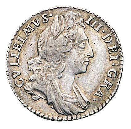 William III Sixpence 1694-1702