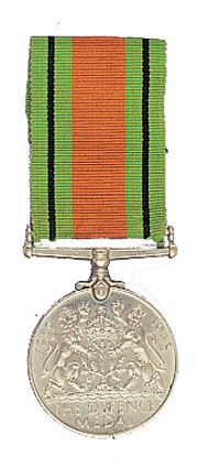 World War II Defence medal