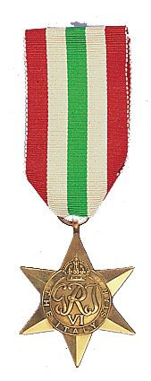 World War II Italy Star